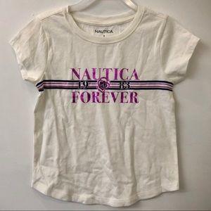 Nautica girls graphic tee